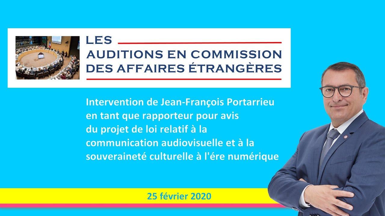 JEAN-FRANCOIS PORTARRIEU - CAE - PJL AUDIOVISUEL -  25_02_2020