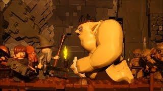 The Hobbit Goblin chase LEGO