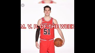 Ryan Arcidiacono Has A Career High Of 22pts-MVP Of The Week #DemBulls
