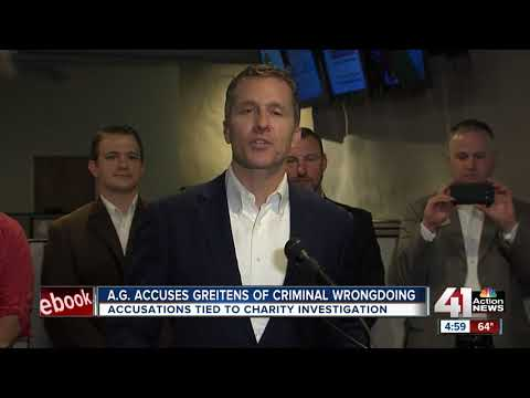 MO AG claims Greitens illegally used charity's donor list