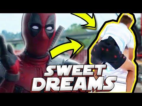 SUPER HERÓIS CAINDO NO FUNK DO SWEET DREAMS - MELHORES MEMES