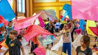 Warsztaty Uwielbienia Tańcem i Flagami - Msza Św. dla dzieci [11.05.2019]