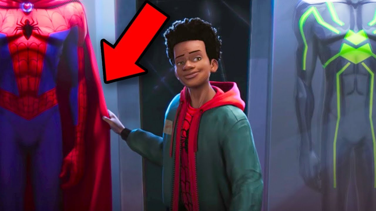 de748672fde9f Into the Spider-Verse BREAKDOWN! Spiderman Easter Eggs   Details You Missed!