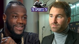 DEONTAY WILDER WILLING TO TAKE 40% IN ANTHONY JOSHUA BOUT