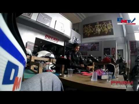Bali Ride On A Victory & Ducati using Sena Prism (Video 1)