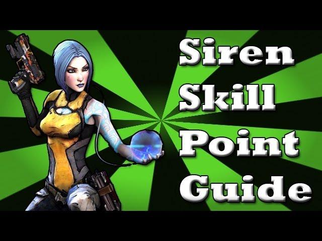Borderlands 2: Siren Skill Point Guide (Maya) [HD]