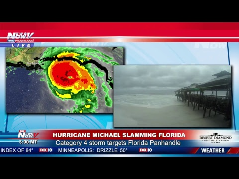 #HurricaneMichael Coverage In Florida