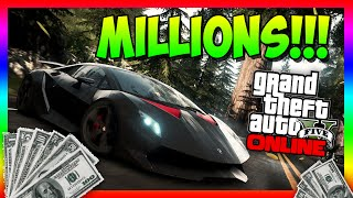 "GTA 5 Glitches - ""UNLIMITED MONEY GLITCH"" After Patch 1.15 GTA V Online Glitches (1.15 MONEY GLITCH)"