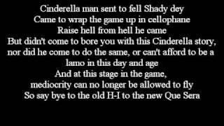Eminem - Recovery - 11. Cinderella Man Lyrics