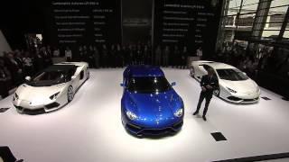 Lamborghini Asterion at Mondial de l'Automobile 2014   Press Conference