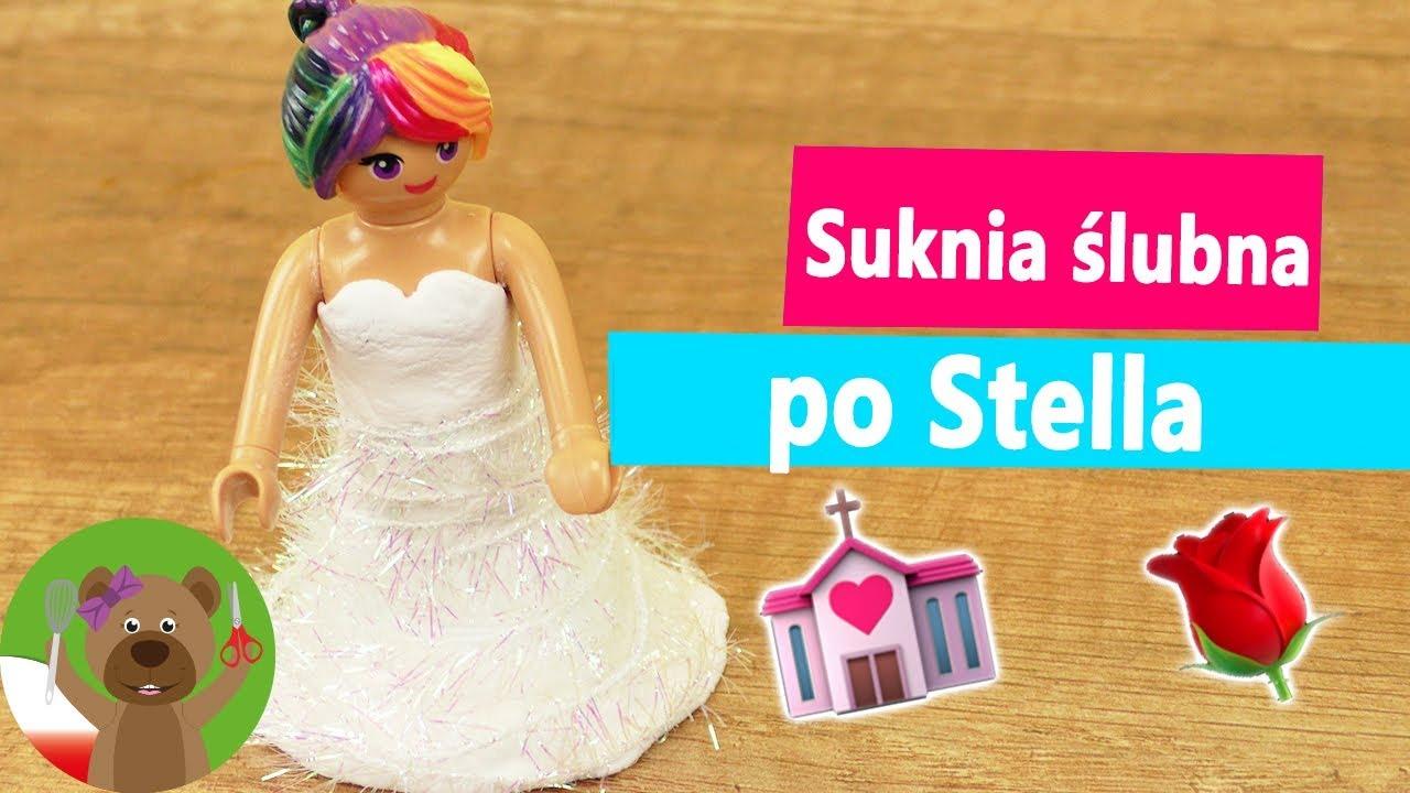 DIY Playmobil | Suknia ślubna dla Stelli z Silk Clay | Moda Playmobil