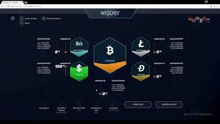 Wizory - псевдо-облачный майнинг с бонусом 100 GH/s. Обзор и Отзывы.