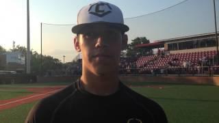 EvoShield Canes 17U National pitcher Rian Haire