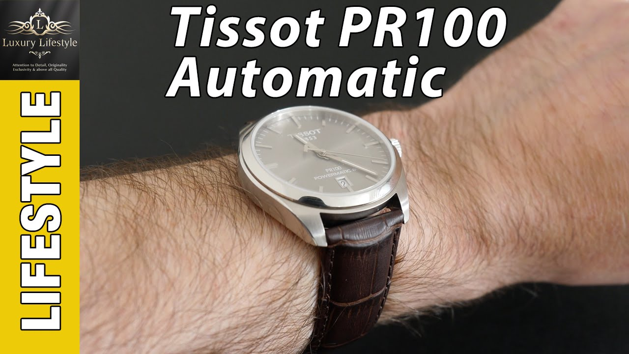 Tissot Pr100 Automatic Watch Review Watch Lifestyle Channel Youtube