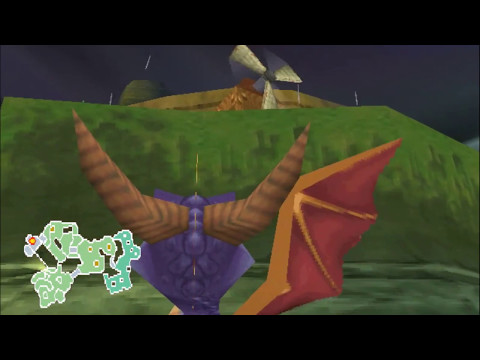 Let's Play Spyro 2 (Blind)-Part 5-Electric Machines of Success
