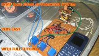 DTMF Base Home Automation System | Electronic Project