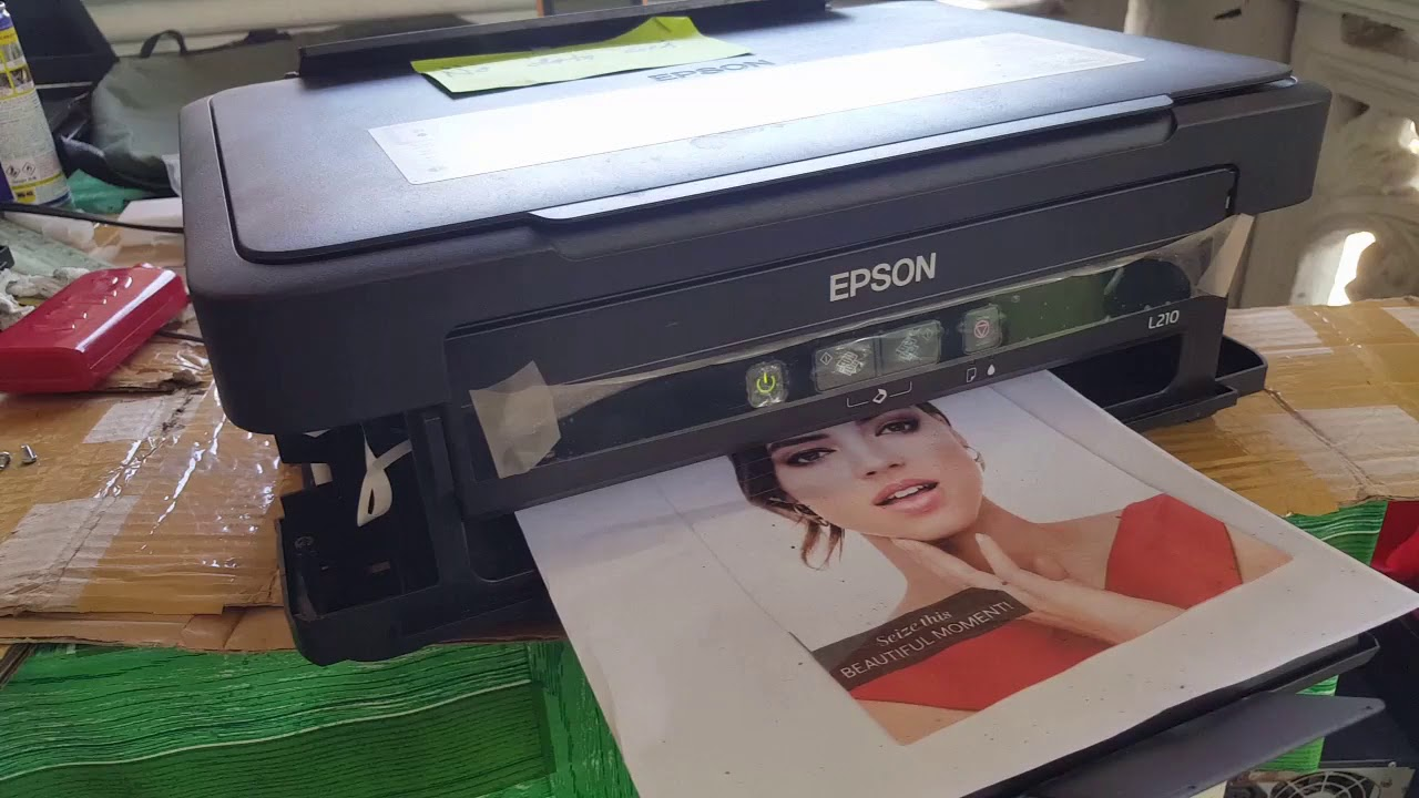 Epson L210 paper jam solution (applicable to all L series)
