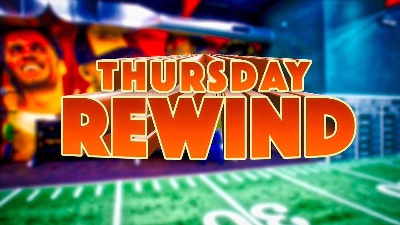 Thursday's Rewind   12/5/19