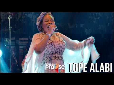 Tope Alabi Live at Unusual Praise 2019 | Full Ministration