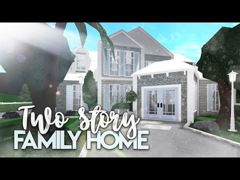 roblox-|-bloxburg:-2-story-family-house-|-house-build