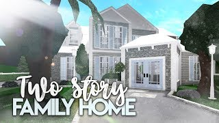Roblox | Bloxburg: 2 Story Family House | House Build