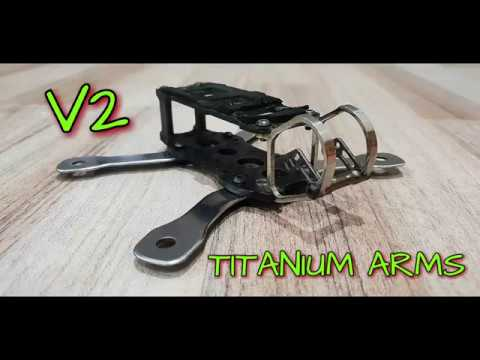 METAL ARMATTAN GECKO V2 - TITANIUM ARMS - FPV