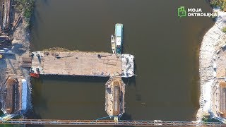 Remont mostu na DK nr 61 w Ostrołęce