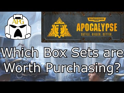 Which Apocalypse Box Sets Are Worth Purchasing For 40k? **Can They Make A Strong Army?**