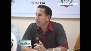 Salgaocar & AL-Wehdat Media Conference [A.F.C 9th of April 2012]