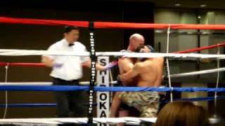 Kickboxing/grappling match at Chicago Shidokan Nathaniel Taylor Memorial - 11/22/08