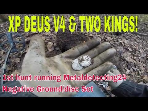Hunt #4 testing Metal detecting 24's Xp Deus 4.0 Fast set & Two Kings!