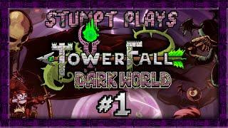 Stumpt Plays - Towerfall Dark World- #1 - Super Bombs (4 Player Gameplay)