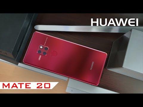 Huawei Mate 20 Introduction, kirin 980, 8GB Ram, 512GB, wireless charging