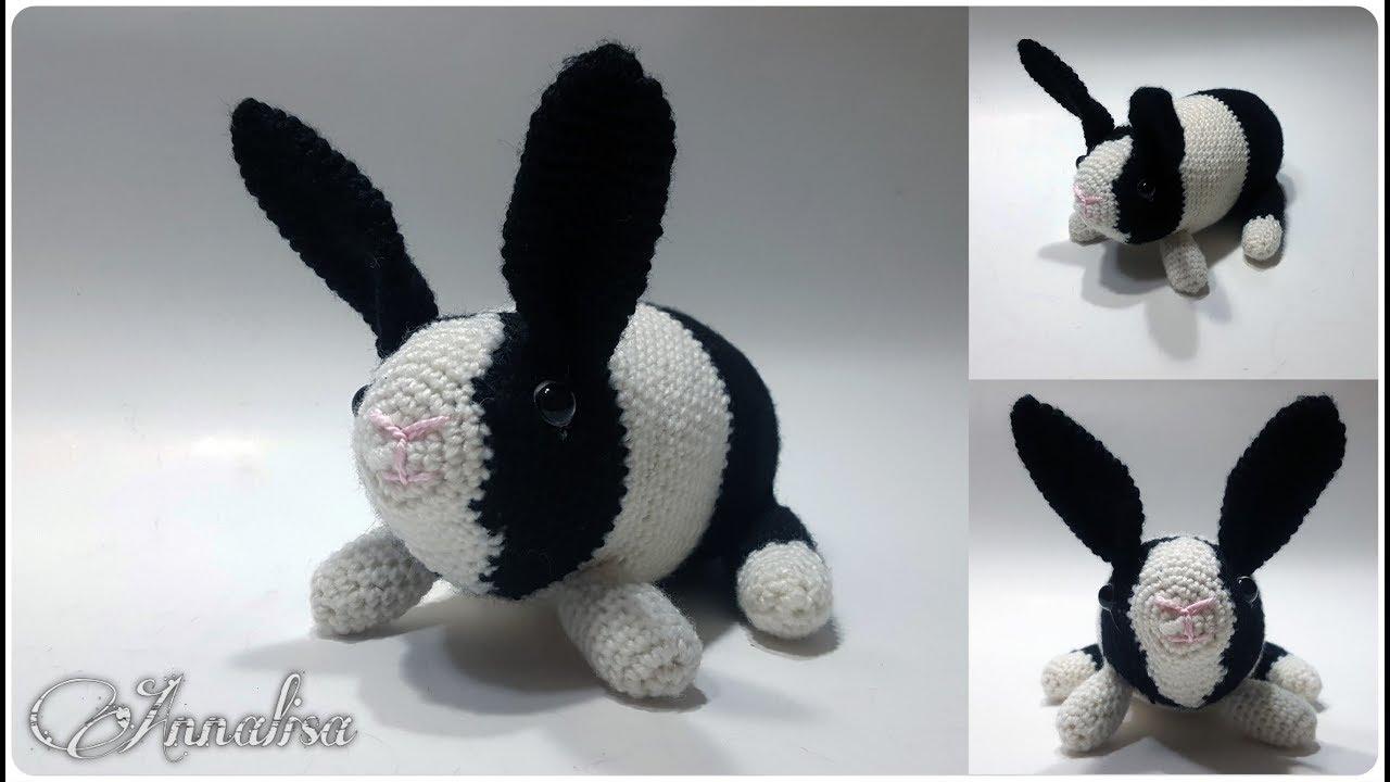 Como hacer un conejito amigurumi orejas largas en versión niño | 720x1280