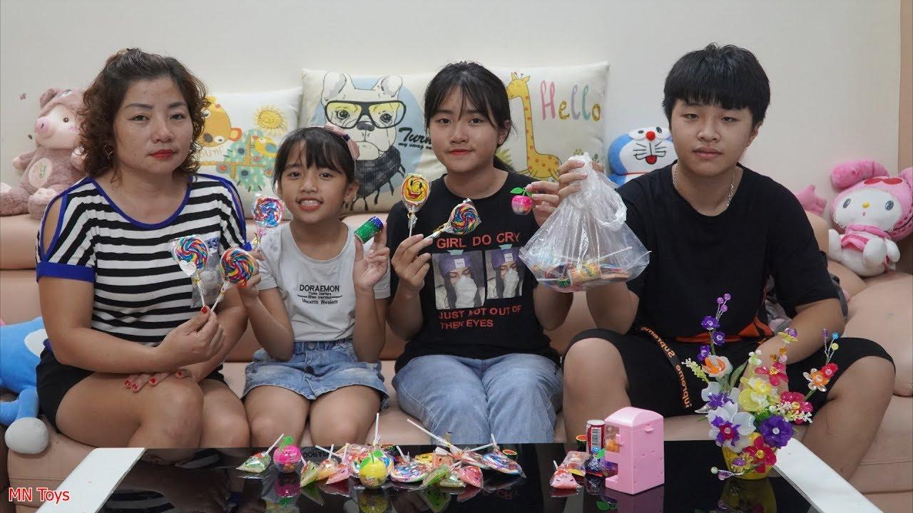 Người Bạn Tốt - Chia Đều Kẹo Đồ Chơi Giúp Hai Chị Em Hồng Anh và Thùy Giang - MN Toys