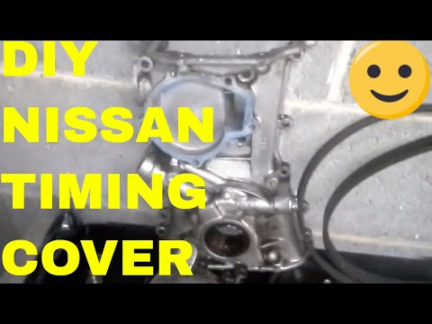 How to Remove a Nissan Sentra Timing Chain Cover