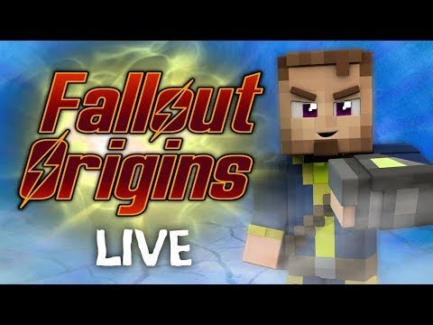 Minecraft FALLOUT ORIGINS #2.5 ( Live Modded Survival ) thumbnail
