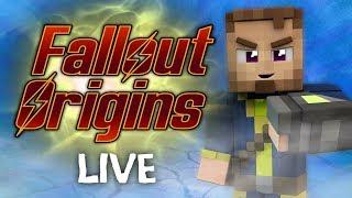 Minecraft FALLOUT ORIGINS #2.5 ( Live Modded Survival )