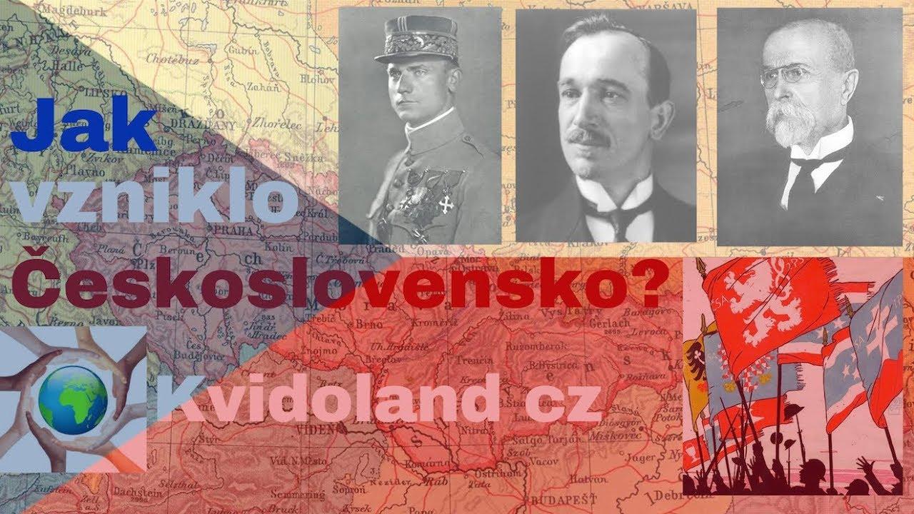Download Kapitola 1. Vznik Československa - Projekt 100 Československo