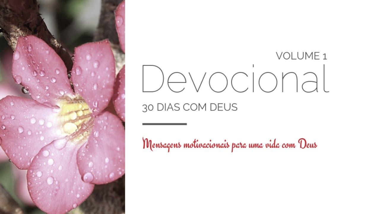 Devocional 30 Dias Com Deus Vol 1 Sandra Rz Bertotti Learn A New Skill Ebooks Or Documents Hotmart