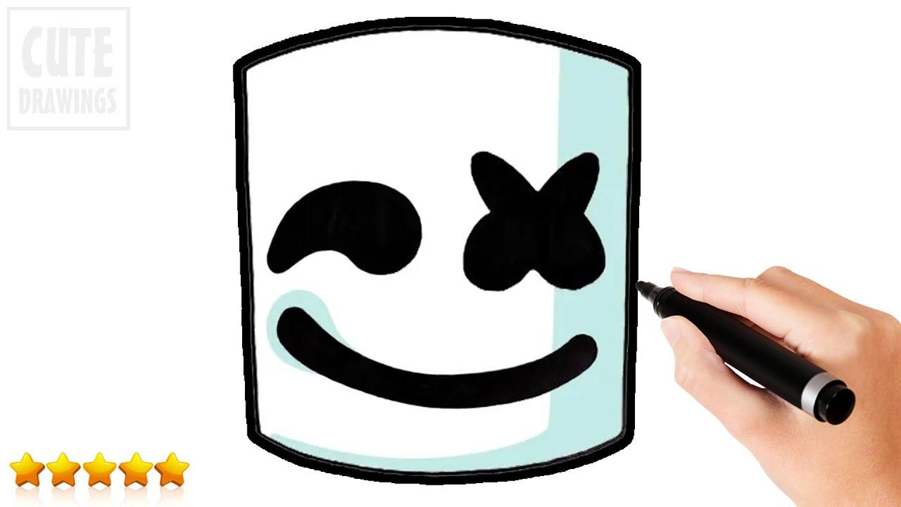 Marshmello Fortnite Skin Drawing Fortnite Generator