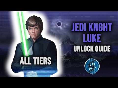 JEDI KNIGHT LUKE FULL UNLOCK GUIDE   Star Wars: Galaxy of Heroes  