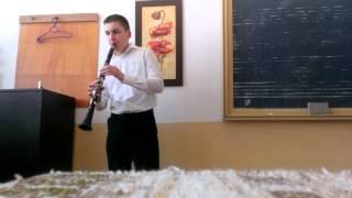 Preludiu Si Rigaudon - clarinet  Tut Ionut