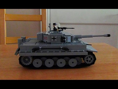 Cobi small army tiger tank ww2 panzer 6 build and review youtube - Army tank pictures ...