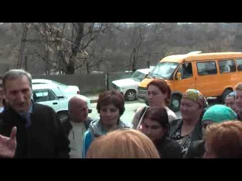 Хаким(Руслан) Кучмезов на сходе села Белая речка 03.04.2013