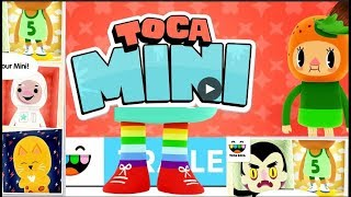 Toca Mini - Toca Boca Education Android (Mobil) Gameplay Video For Kids