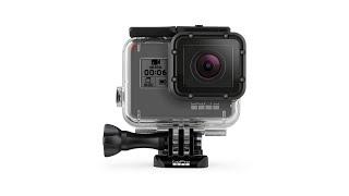 как поместить камеру GoPro HERO5, HERO6 или HERO7 в водонепроницаемый бокс SuperSuit