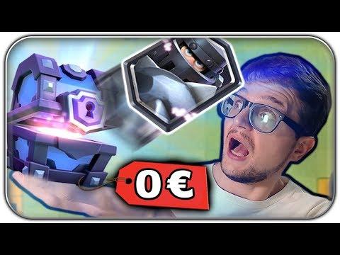 Mega Ritter Level 2? Kostenlose Super Magical Chest erhalten   Clash Royale Funny Moments Deutsch