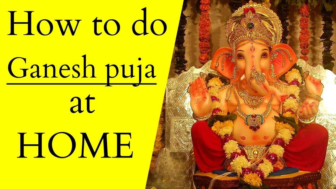 Download How to do Ganesh Puja and sthapana at HOME Step by step   Ganesh chaturthi   बिना पंडित गणेश स्थापना