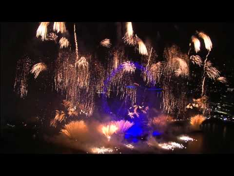 New Year 2013 Live - London Fireworks  (BBC One HD TV)